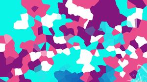 Shapes Geometry Colorful Digital Art Artistic 1920x1080 Wallpaper