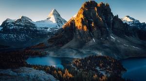 Nature Dark Sunlight Mountains Landscape Alps Matterhorn 2500x1667 Wallpaper