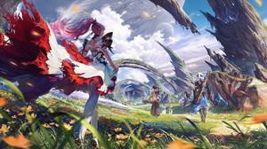 Anime Anime Girls Tales Of Arise Artwork Namako Mikan Fantasy Art 2795x1516 Wallpaper