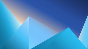 Blue Minimalist 7801x4500 Wallpaper