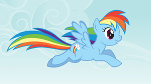 My Little Pony Rainbow Dash Vector 2560x1600 Wallpaper
