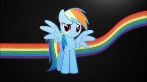 My Little Pony Rainbow Dash Vector 1280x1024 Wallpaper
