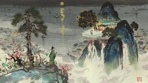 Painting Japanese Art Neo1900 2289x1080 Wallpaper