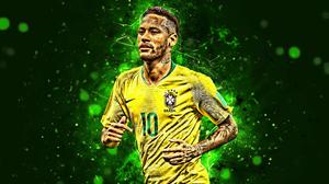Brazilian Footballer Neymar Soccer 3840x2400 Wallpaper