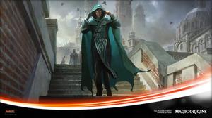 Jace Magic The Gathering Jace Telepath Unbound Magic Origins Magic The Gathering Planeswalker Magic  1920x1080 Wallpaper