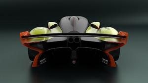Aston Martin Valkyrie Amr Pro Sport Car Race Car Yellow Car Car 1920x1080 Wallpaper