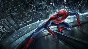 The Amazing Spider Man 2 Spider Man Movie Building 4000x2500 Wallpaper