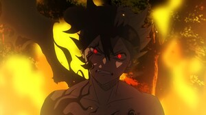 Black Clover Asta Demon Eyes Red Eyes Fire Anime Boys 2560x1440 Wallpaper
