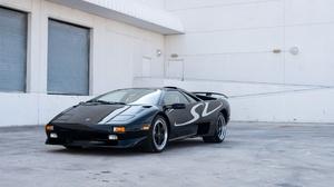 Car Lamborghini Black Car Sport Car Supercar 2048x1366 wallpaper