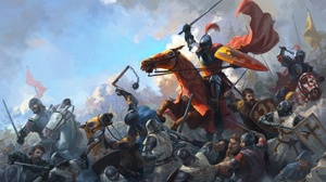 Armor Battle Horse Knight Sword Warrior 1920x1080 Wallpaper