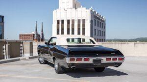 Chevrolet Impala Convertible Muscle Car Old Car Black Car Car 2048x1365 Wallpaper
