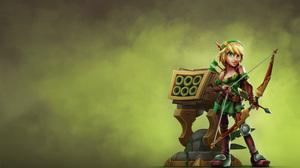 Huntress Dungeon Defenders 1920x1080 wallpaper
