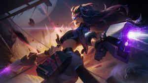 Samira League Of Legends 3840x2160 Wallpaper