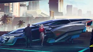 Video Game Cyberpunk 2077 4096x1521 Wallpaper