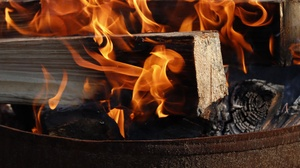 Firewood Close Up Flame 3840x2160 Wallpaper