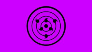 Minimalist Naruto Purple Rinnegan Naruto 8500x4500 Wallpaper