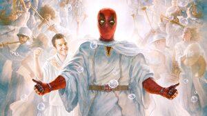 Deadpool Heaven Marvel Comics 2764x1556 Wallpaper