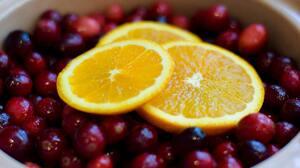 Berry Orange Fruit 6000x4000 wallpaper