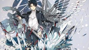 Levi Ackerman Shingeki No Kyojin Anime Boys 1920x1338 Wallpaper