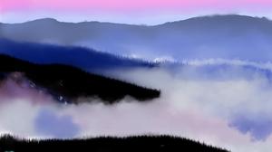 Digital Painting Nature Landscape 1920x1080 Wallpaper