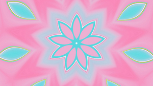 Abstract Artistic Colors Digital Art Gradient Kaleidoscope Pink Shapes 1920x1080 wallpaper