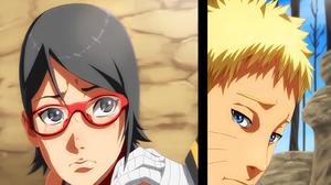 Naruto Naruto Uzumaki Sarada Uchiha 1600x1191 Wallpaper