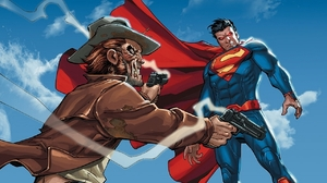 Jonah Hex Superman 1280x960 wallpaper