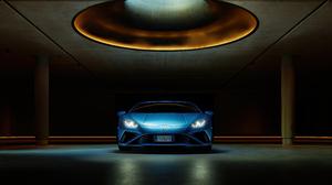 Blue Car Car Lamborghini Lamborghini Huracan Lamborghini Huracan Evo Sport Car Supercar 5120x3842 Wallpaper