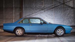 Blue Car Car Ferrari 412 Grand Tourer Old Car Sport Car 1920x1080 wallpaper