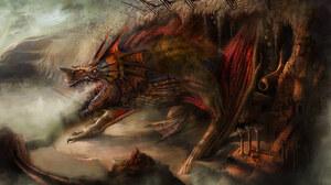 Beast Creature Monster 2000x1112 wallpaper