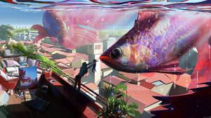 Artwork Fantasy Art Fish 2560x1198 Wallpaper