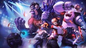 Dr Mundo League Of Legends Ezreal League Of Legends League Of Legends Nunu League Of Legends Orianna 6313x3724 Wallpaper