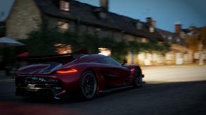 Forza Forza Horizon 4 Forza Horizon Car Racing Cinematic Supercars Hypercar Koenigsegg Ferrari Pagan 1920x1080 Wallpaper