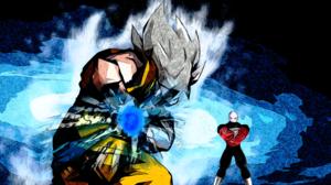Jiren Dragon Ball Super Saiyan Goku 10680x6016 wallpaper