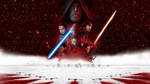 Star Wars The Last Jedi Rey From Star Wars Luke Skywalker Princess Leia Kylo Ren Lightsaber Movies J 1920x1080 Wallpaper