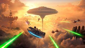 Bespin Star Wars Millennium Falcon Slave I Star Wars Star Wars Battlefront Star Wars Battlefront 201 1920x1080 Wallpaper