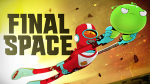 Alien Final Space Flying Gary Goodspeed Logo Man Mooncake Final Space 2560x1440 Wallpaper