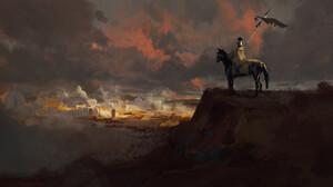 Horse Roman Legionary Siege Warrior 1920x1080 Wallpaper