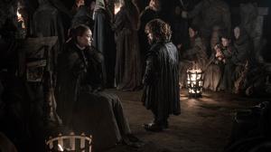Peter Dinklage Sansa Stark Sophie Turner Tyrion Lannister 2100x1400 wallpaper