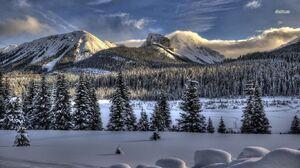 Mountain 1366x768 wallpaper