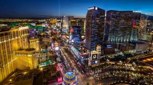 Man Made Las Vegas 2048x1366 wallpaper