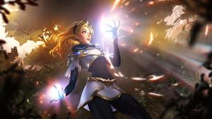 League Of Legends Lux League Of Legends Gerald Parel 2560x1280 Wallpaper