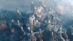 Fantasy Building 1920x1080 wallpaper