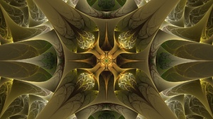 Artistic Digital Art Fractal Symmetry 1920x1182 Wallpaper