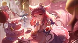 Honor Of Kings Da Ji Honor Of Kings Maid Coffee Cake Anime Girls 8114x4138 Wallpaper