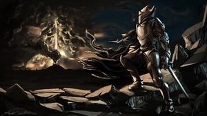 Fantasy Knight 1920x1080 Wallpaper