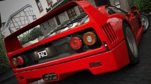 Red Cars Car Vehicle Ferrari Ferrari F40 3840x2160 Wallpaper