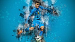Brazilian Philippe Coutinho Soccer 3840x2400 Wallpaper