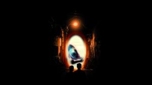 Black Black Background Digital Art Parallel Universe Portal Portals Simple Simple Background 3840x2160 Wallpaper