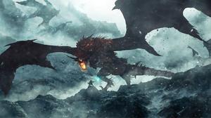 Battle Dragon Warrior Wyvern 2560x1410 Wallpaper